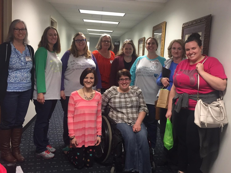 CF1 Special Needs Ministry Team Ladies